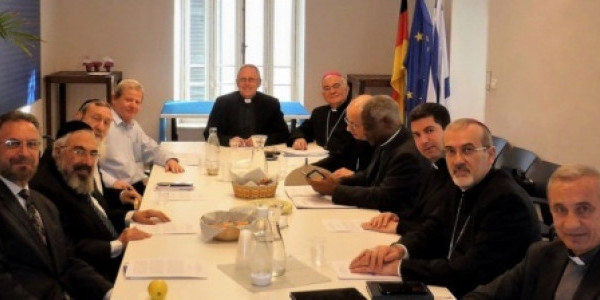 Commission of the Holy See for Religious Relations with the Jews meets with the Chief Rabbinate of Israel Available in the following languages:      Arabic, Español, Français, Italiano,