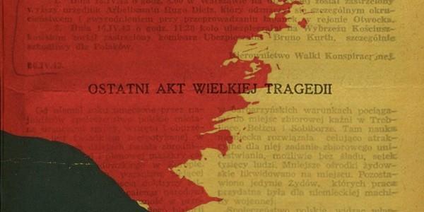 """""""Pękająca wspólnota. Polacy i Żydzi w cieniu wojny"""""""