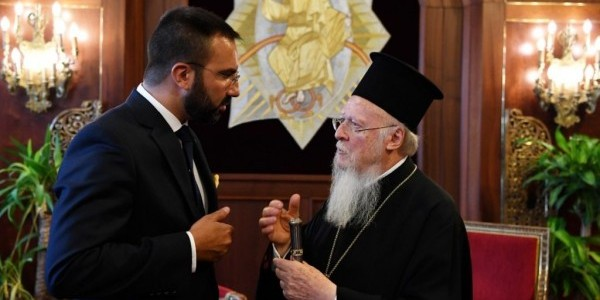 Special Envoy on Combatting Anti-Semitism to the Ecumenical Patriarch.