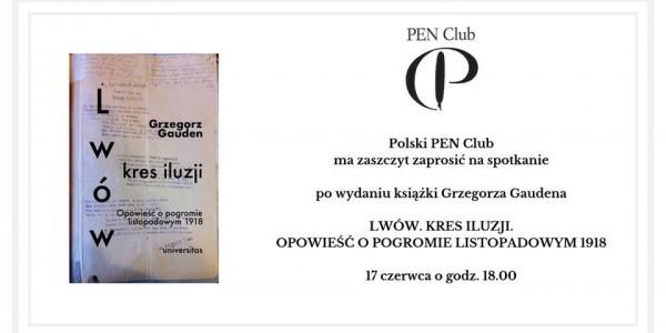 Pan Club, spotkanie z Grzegorzem Gudenem