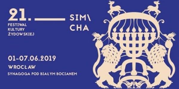 Festiwal Kultury Żydowskiej SIMCHA. Wrocław, Synagoga pod Białym Bocianem,