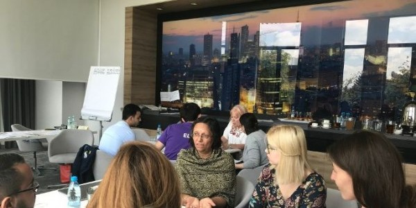 Over 25 women and youth from different religions and countries across Europe met in Warsaw to discuss their contribution to the 10th World Assembly of Religions for Peace in August 2019.