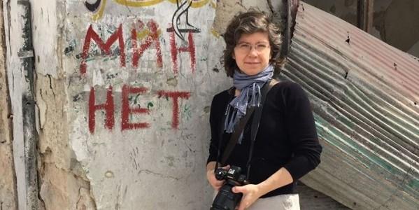 Marta Titaniec w Aleppo.