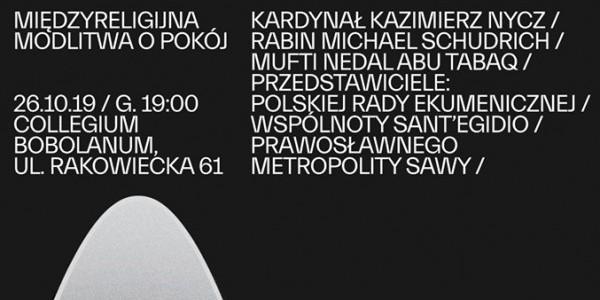 W nawiązaniu do międzyreligijnego Dnia Modlitwy o Pokój w Asyżu, którego inicjatorem był Jan Paweł II, przedstawiciele wielu religii spotkają się w Warszawie 26 października, aby w jednym mie