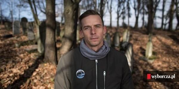 Dariusz Popiela olimpijczyk, kajakarz górsk: O Holocauście nie myśli liczbami. – Zagłada to dla mnie ludzie! – przypominał przed rokiem
