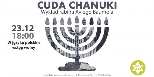 Cuda Chanuki - wykład rabina Aviego Baumola