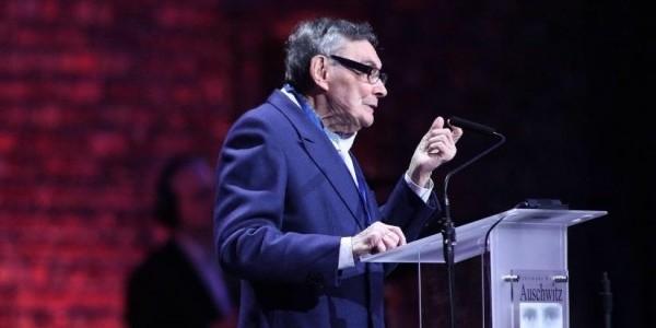 Nie bądźcie obojętni – apelował Marian Turski. Były więzień Auschwitz, który wziął udział w uroczystościach z okazji 75. rocznicy wyzwolenia obozu Auschwitz-Birkenau.