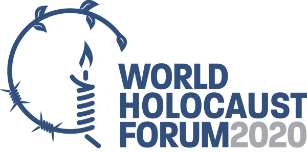 Światowe Forum Holokaustu - logo