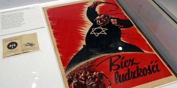 Żydokomuna Bicz ludzkości - plakat