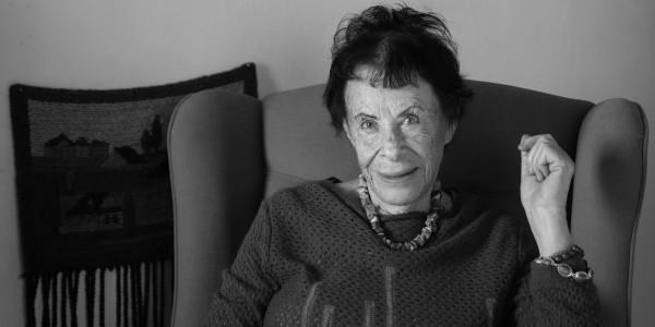 Irena Likierman w swoim domu, Warszawa, 17.11.2019 (fot. Archiwum prywatne)