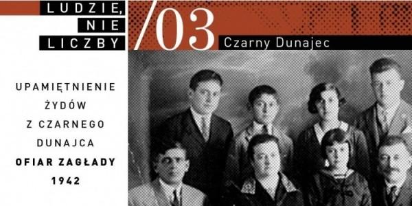 Żydowscy mieszkańcy Czarnego Dunajca na Podhalu oraz okolicznych miejscowości, zamordowani w Holokauście, zostaną upamiętnieni z imienia i nazwiska