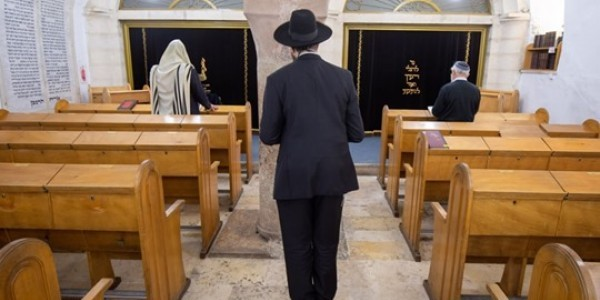 Hurva Synagogue in Jerusalem, March 24, 2020Emil Salman