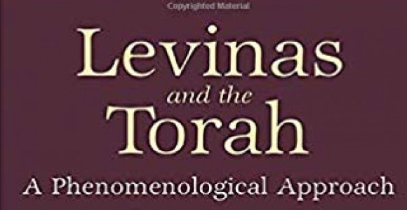 Levinas and the Torah. From cover.