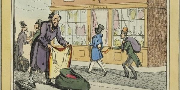 Ilustracja pochodzi z archiwum The Jewish London Museum, sygnatura: C 1986.7.12.