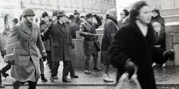 Marzec'68 - ulica Warszawy