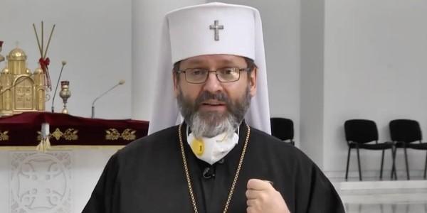 Swiatosław Szewczuk, biskup Ukraińskiej Cerkwi Greckokatolickiej, arcybiskup większy kijowsko-halicki. Zwierzchnik Kościoła katolickiego obrządku bizantyjsko-ukraińskiego