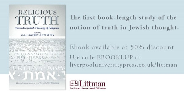 Religious Truth. Towards a Jewish Theology of Religions