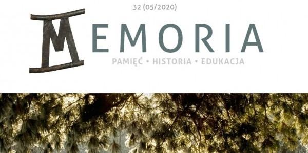 Memoria Magazine nr 32  (maj 2020)
