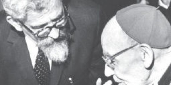 Augustyna Bea i  Abraham J. Heschl