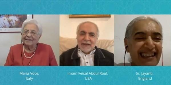 Coronaspection: Introspection V: Maria Voce - Italy, Imam Feisal Abdul Rauf - USA, Sr. Jayanti - England