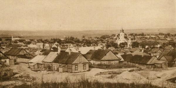 Słonim widok z 1939r