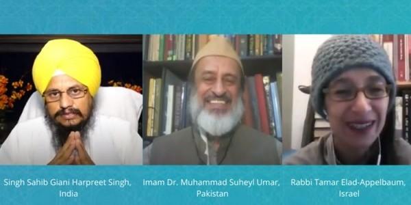 Coronaspection: Introspection XII: Singh Sahib Giani Harpreet Singh, Imam Dr. Muhammad Suheyl Umar, Rabbi Tamar Elad-Appelbaum