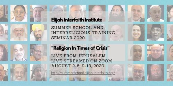 Elijah Interfaith Summer School 2020