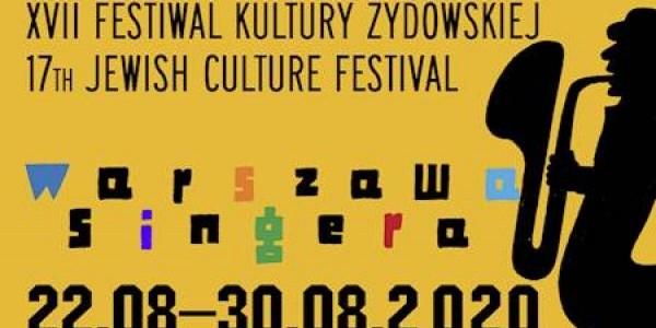 Festiwal Warszawa Singera - plakat