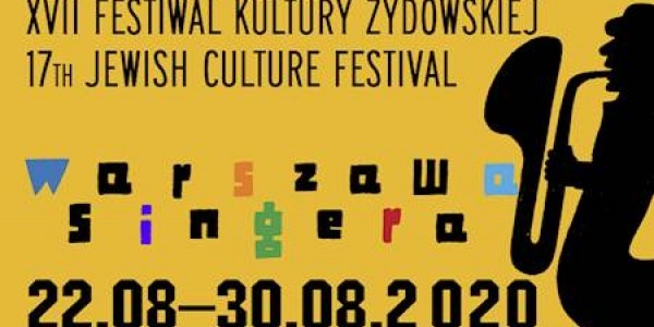 Festiwal Kultury Żydowskiej - plakat