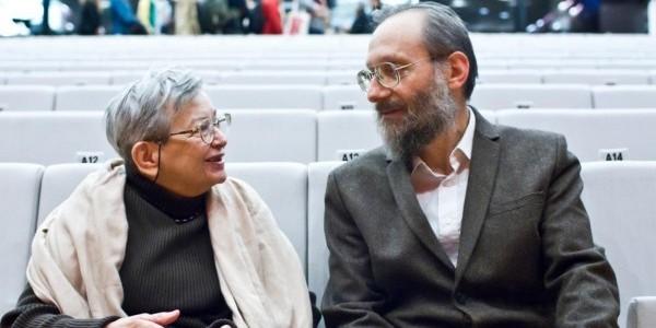 Halina Bortnowska i Stanisław Krajewski - fot. Magda Starowieyska/Muzeum Historii Żydów Polskich