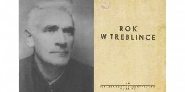 """Jankiel Wiernik/strona tytułowa relacji """"Rok w Treblince""""  /  Muzeum Treblinka/Wikipedia"""