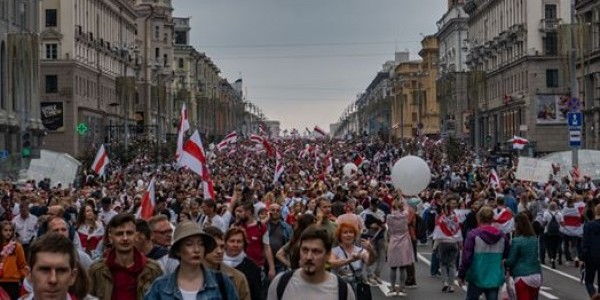 Białoruś, Mińsk VIII-IX 2020