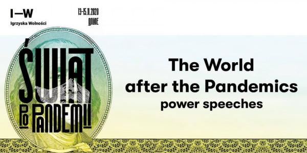The World after the Pandemics - Świat po pandemii. Zapowiedź
