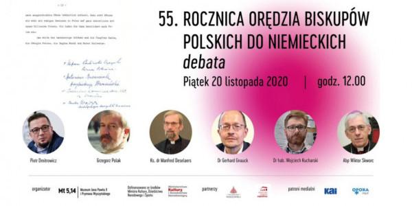 55. rocznicą orędzia biskupów polskich do niemieckich