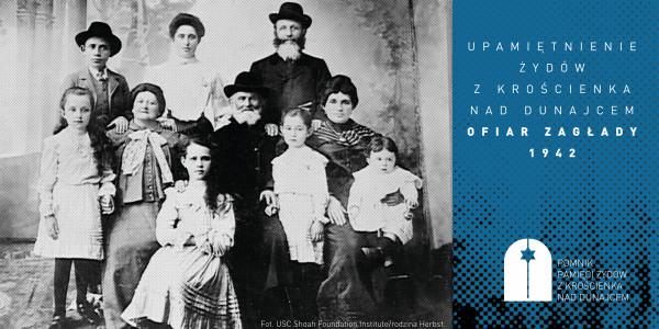 Upamiętnienie Żydów z Krościenka nad Dunajcem, ofiar Zagłady 1942
