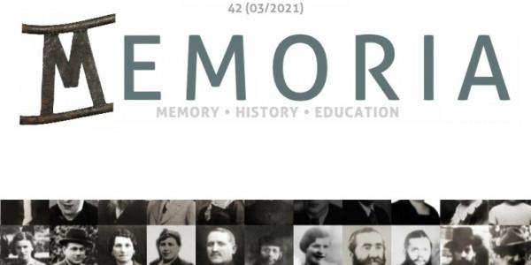 Magazyn Memoria nr 42, 3/2021
