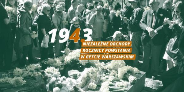 78 rocznica powstania w getcie warszawskim