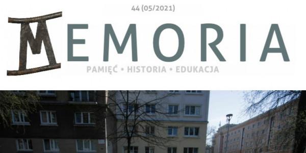 Miesięcznik Memoria 44 (31 maja 2021)