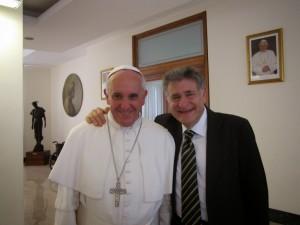 Rabin Abraham Skórka i Papież Franciszek
