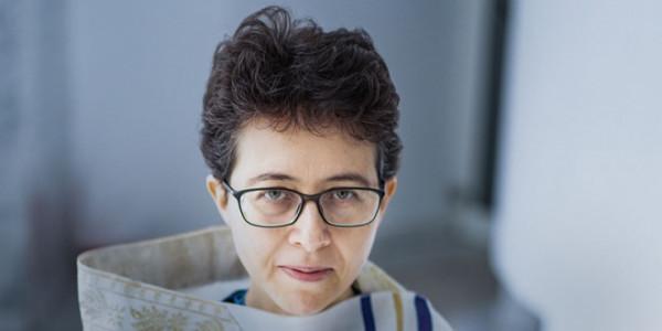 Małgorzata Kordowicz, rabinka, Gmina Wyznaniowa Żydowska w Warszawie, październik 2020 r. / GRAŻYNA MAKARA
