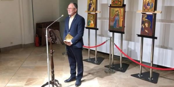 Pastor Wiesław Didoszak laureat nagrody im ks. Romana Indrzejczyka