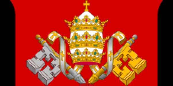 Godło Stolicy Apostolskiej - fragment