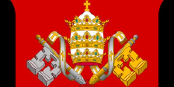Fragment godła Stolicy Apostolskiej