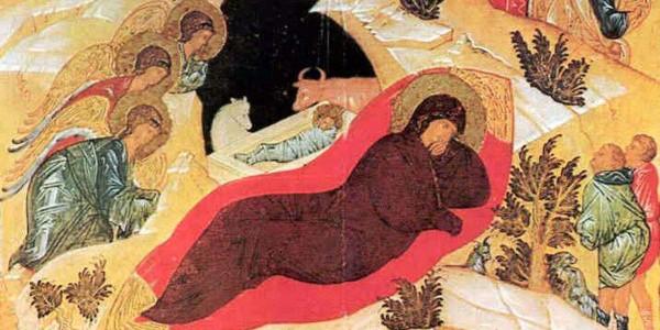 Andriej Rublow - Ikona Narodzenia Pańskiego