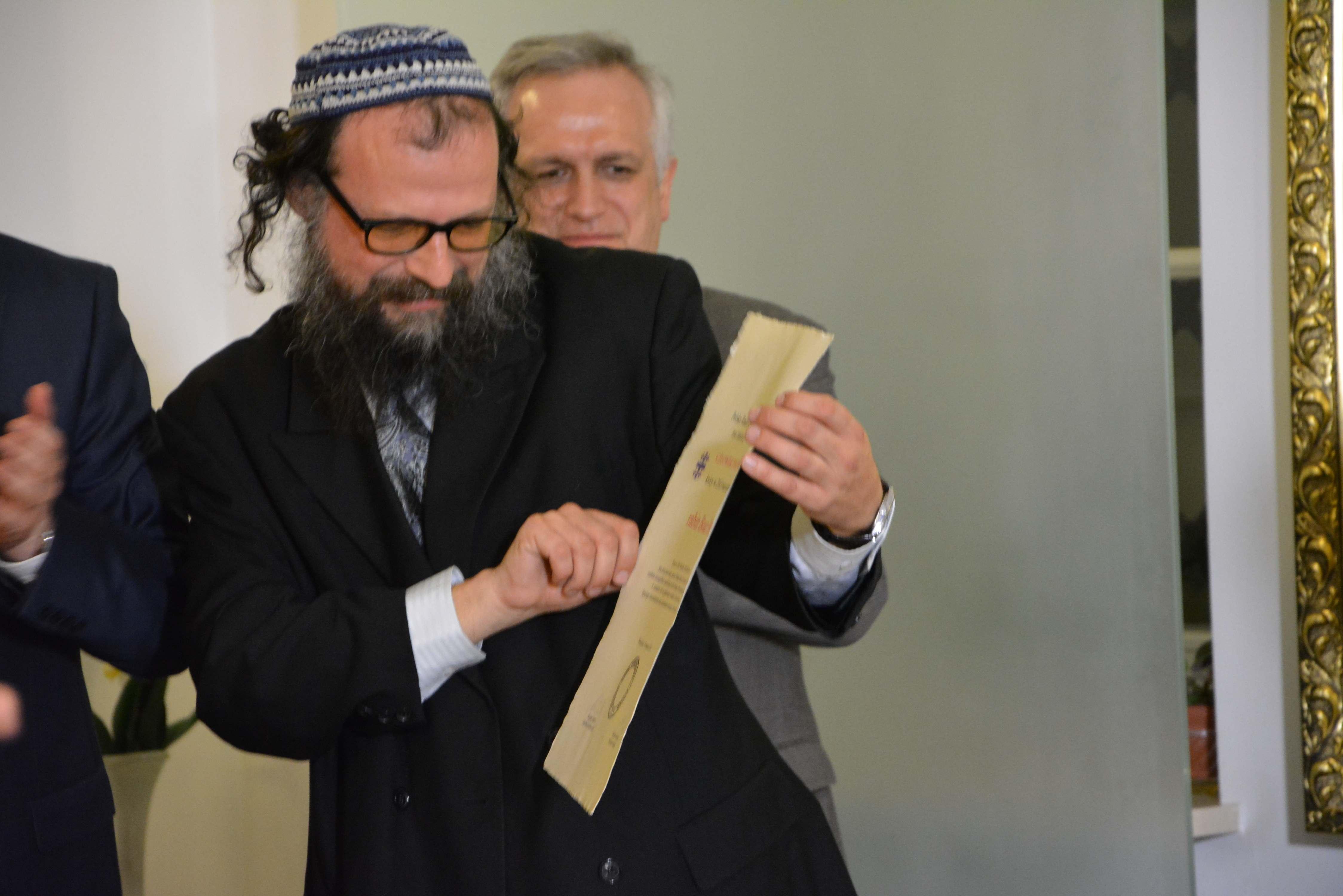Rabin Boaz Pash - Człowiek Pojednania za rok 2013
