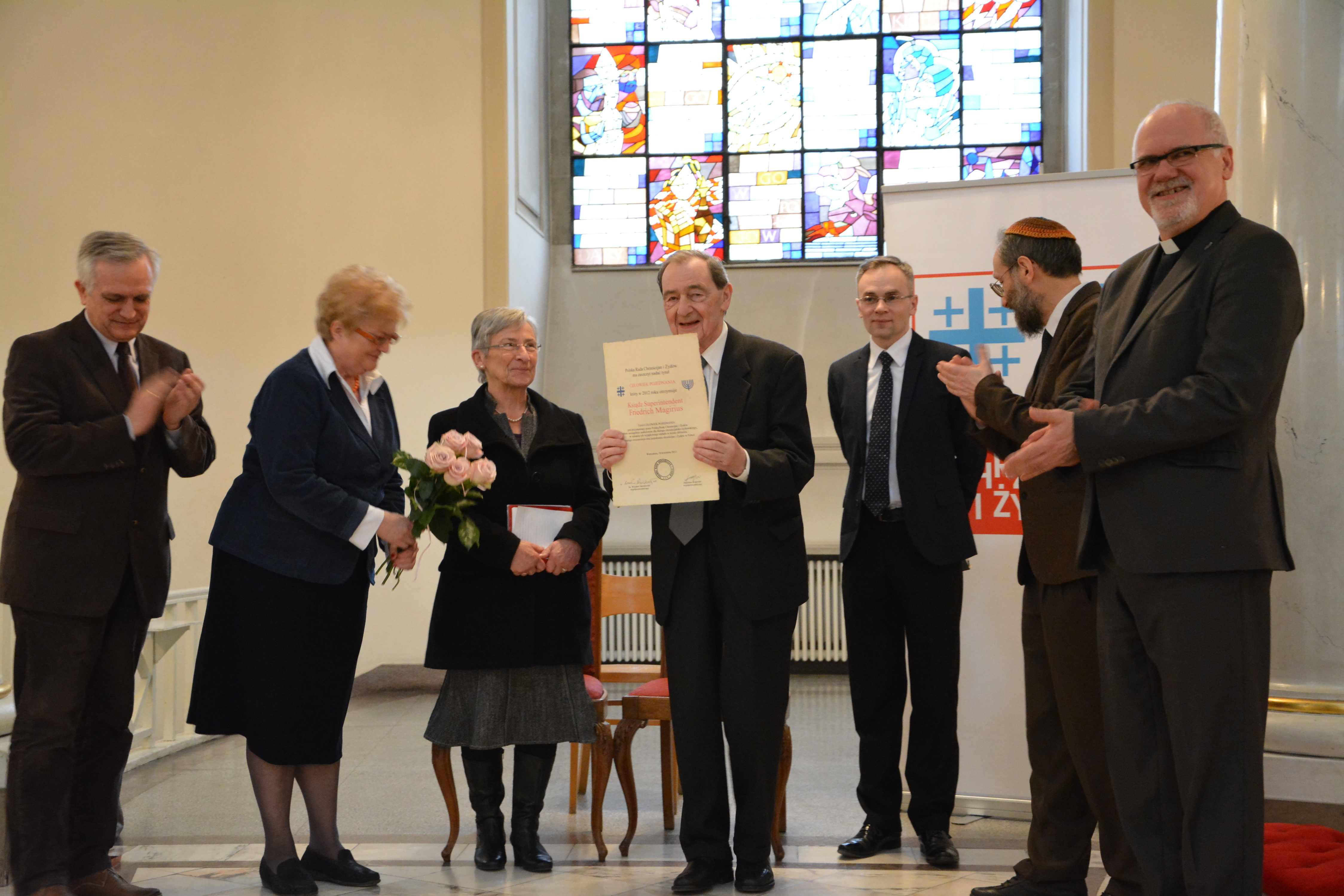 Pastor Friedrich Magirius, Człowiek Pojednania za rok 2012