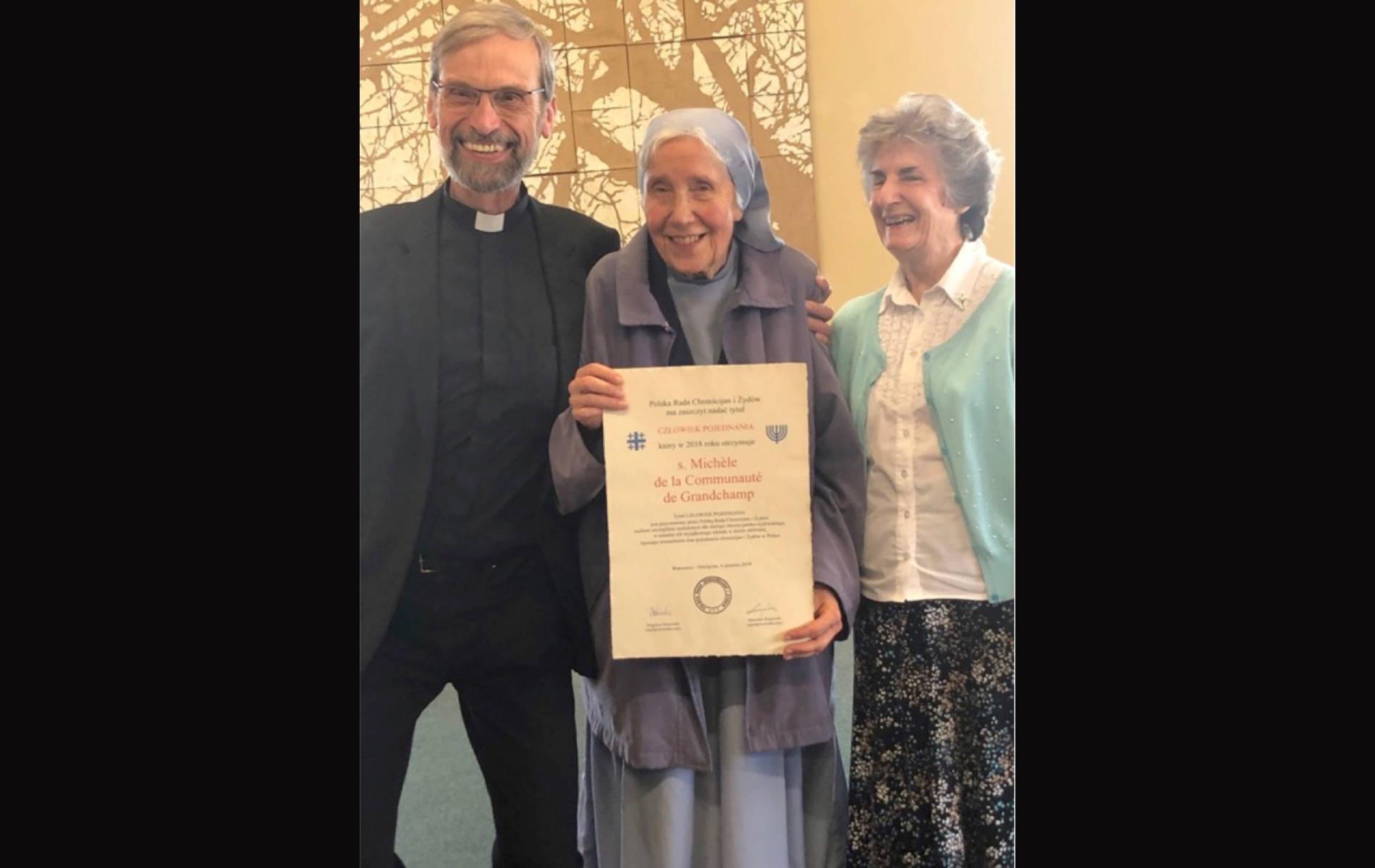 Siostra Michèle (Irene Müller) - Człowiek Pojednania za rok 2018