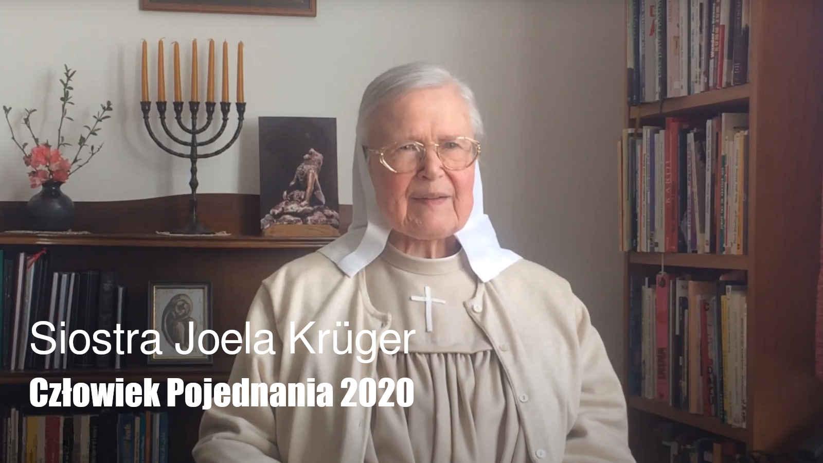 Siostra Joela Krüger- Człowiek Pojednania 2020